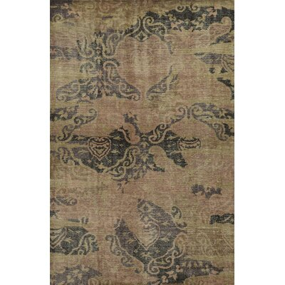 Glasgow Hand-Knotted Area Rug Rug Size: Rectangle 5 x 8