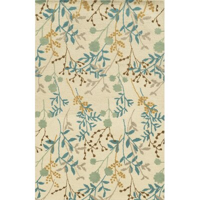 Al Hoceima Hand-Tufted Ivory Area Rug Rug Size: Rectangle 8 x 10