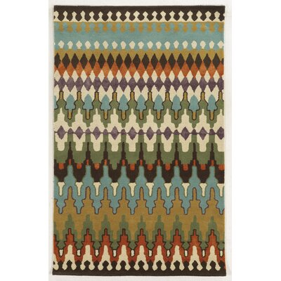 Algiers Hand-Tufted Area Rug Rug Size: Rectangle 5 x 8