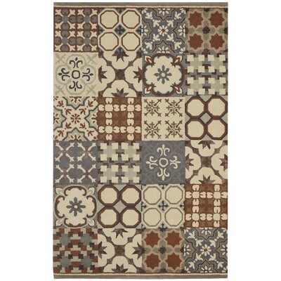 Bardia Hand-Tufted Area Rug Rug Size: Rectangle 5 x 8