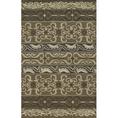 Gibraltar Hand-Tufted Gray Area Rug Rug Size: Rectangle 9 x 12