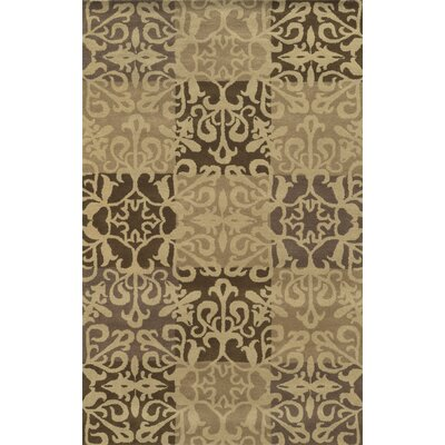 Malaga Hand-Tufted Beige Area Rug Rug Size: Rectangle 8 x 10