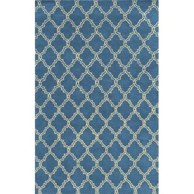 Marseille Hand-Tufted Blue Area Rug Rug Size: 8 x 10