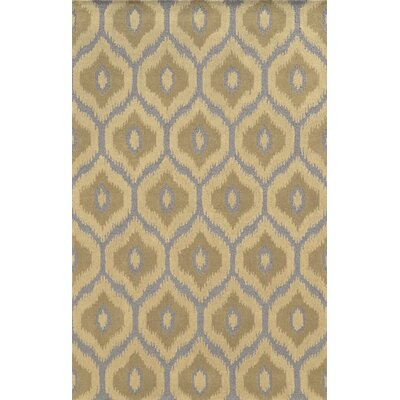 Mersa Hand-Tufted Beige Area Rug Rug Size: 9 x 12