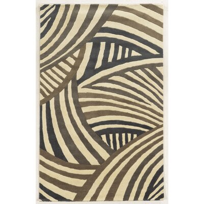 Misrata Hand-Tufted Area Rug Rug Size: Rectangle 5 x 8
