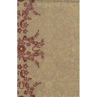Said Hand-Tufted Light Brown Area Rug Rug Size: 5 x 8