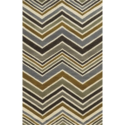 Sidon Hand-Tufted Area Rug Rug Size: Rectangle 3' x 5'