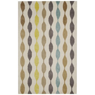 Tel Aviv Hand-Tufted Area Rug Rug Size: Rectangle 5 x 8