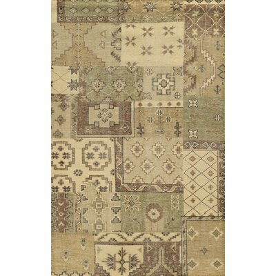 Tunis Hand-Knotted Area Rug Rug Size: Rectangle 5 x 8