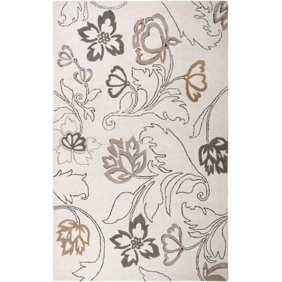 Houston Hand-Tufted Ivory Area Rug Rug Size: Runner 26 x 8