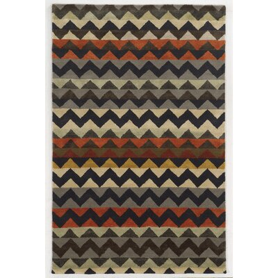 Amsterdam Hand-Tufted Area Rug Rug Size: Rectangle 5 x 8