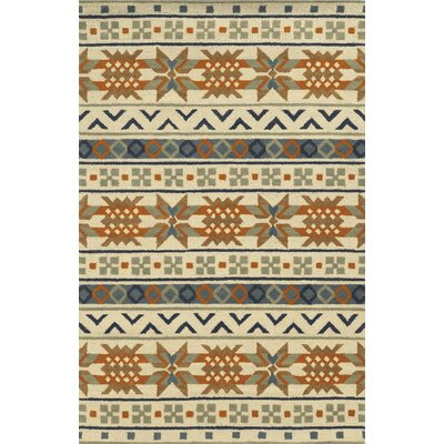 Cuxhaven Hand-Tufted Beige/Yellow Area Rug Rug Size: 8 x 10