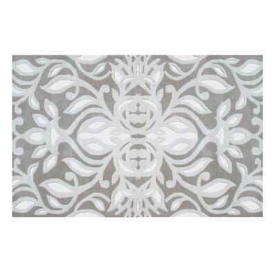 Flotta Hand-Tufted Gray Area Rug Rug Size: 5 x 8