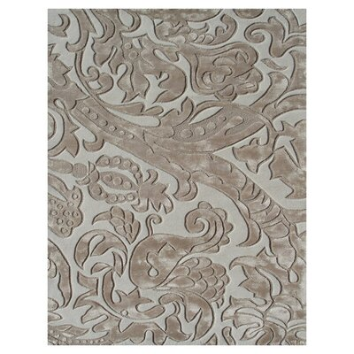 Harwich Hand-Tufted Beige/Ivory Area Rug Rug Size: 5 x 8