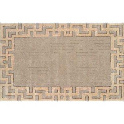 Malmo Handmade Ivory Area Rug Rug Size: 8 x 11