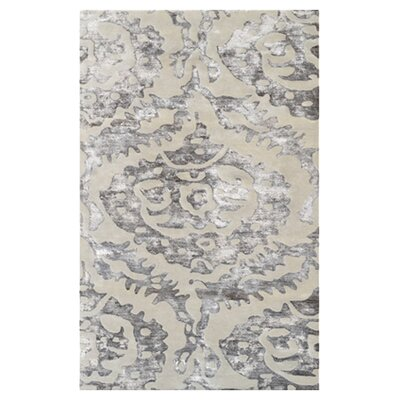 Livorno Hand-Tufted Brown Area Rug Rug Size: 5 x 8