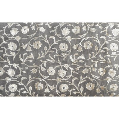 Churchill Hand-Tufted Taupe Area Rug Rug Size: 5 x 8