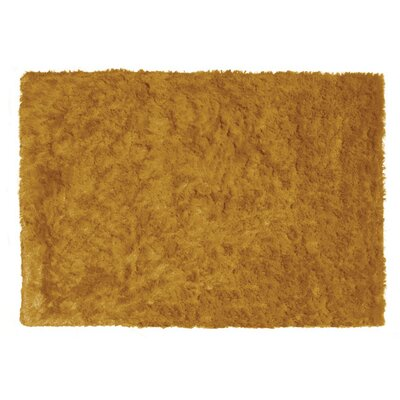 Dikson Gold Area Rug Rug Size: 76 x 96