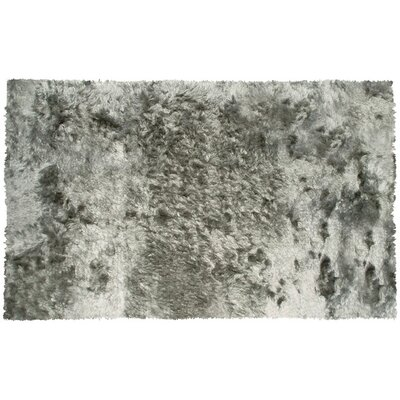 Honningsvag Silver Area Rug Rug Size: 76 x 96