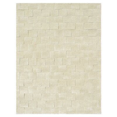 Tiksi Hand-Tufted Cream Area Rug Rug Size: 8 x 11