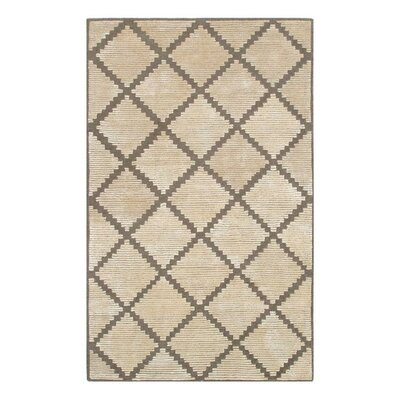 Pevek Hand-Tufted Cream Area Rug Rug Size: 8 x 11