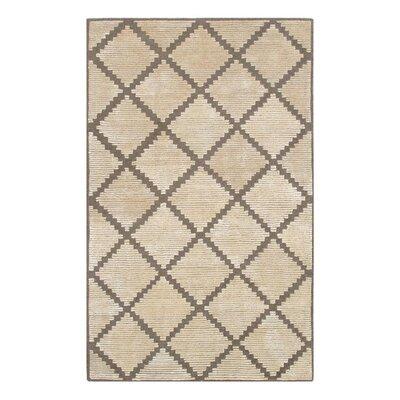 Pevek Hand-Tufted Cream Area Rug Rug Size: 5 x 8