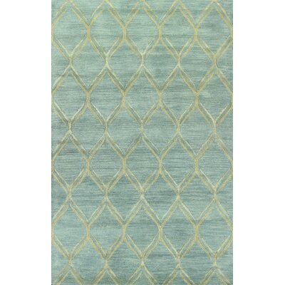 Kandla Hand-Tufted Light Blue Area Rug Rug Size: 39 x 59