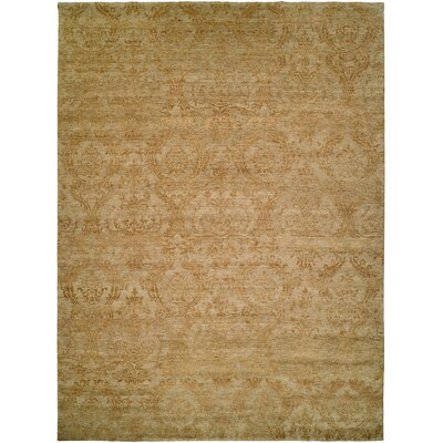 Hurghada Hand-Knotted Beige Area Rug Rug Size: 8' x 10'