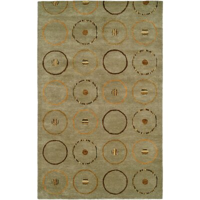 Beige Hand-Tufted Area Rug Rug Size: 2 x 3