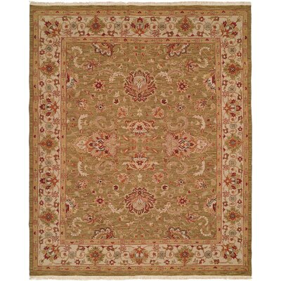 Weihai Hand-Woven Beige Area Rug Rug Size: Rectangle 2 x 3