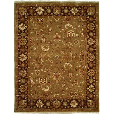 Andra Hand-Woven Brown Area Rug Rug Size: Rectangle 6 x 9