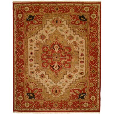 Babu Hand-Woven Brown/Beige Area Rug Rug Size: 10 x 14