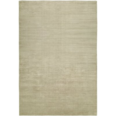 Bansal Hand-Woven Beige Area Rug Rug Size: 36 x 56