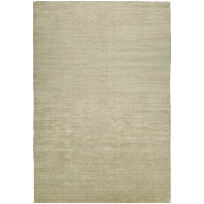 Bansal Hand-Woven Beige Area Rug Rug Size: 6 x 9