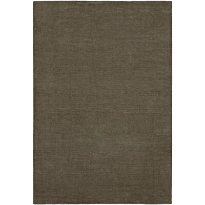 Barman Hand-Woven Gray Area Rug Rug Size: 5 x 8