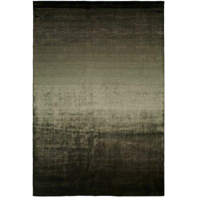 Bath Hand-Woven Black/Beige Area Rug Rug Size: Runner 26 x 10