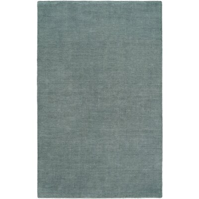 Batta Hand-Woven Blue Area Rug Rug Size: 36 x 56