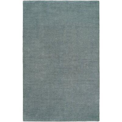 Batta Hand-Woven Blue Area Rug Rug Size: 9 x 12