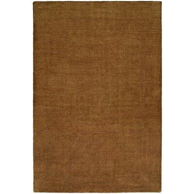Bava Hand-Woven Brown Area Rug Rug Size: 8 x 10