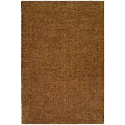 Bava Hand-Woven Brown Area Rug Rug Size: 9 x 12
