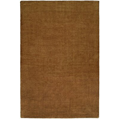 Bava Hand-Woven Brown Area Rug Rug Size: 36 x 56