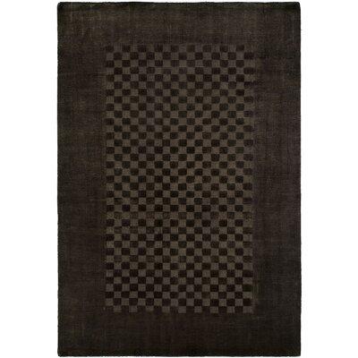 Beharry Hand-Woven Black/Gray Area Rug Rug Size: Runner 26 x 10