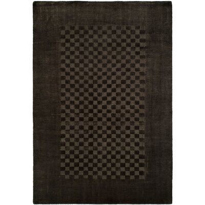Beharry Hand-Woven Black/Gray Area Rug Rug Size: 2 x 3