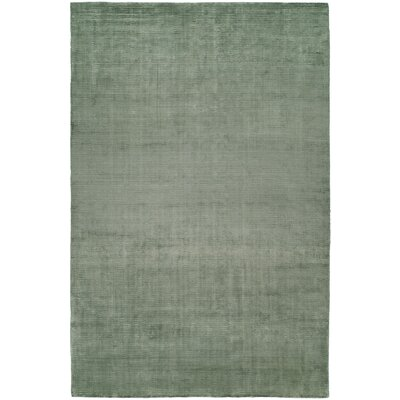 Ben Hand-Woven Green Area Rug Rug Size: Runner 26 x 10