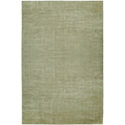 Bhatia Hand-Woven Green Area Rug Rug Size: 6 x 9