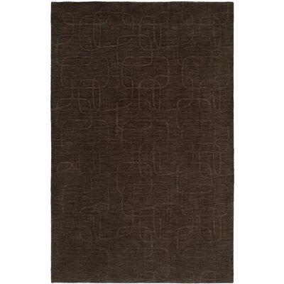 Bhatnagar Hand-Woven Brown Area Rug Rug Size: 2 x 3