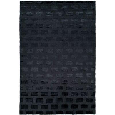 Bhatt Hand-Woven Blue Area Rug Rug Size: 5 x 8