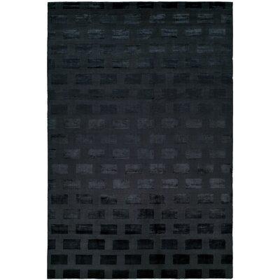 Bhatt Hand-Woven Blue Area Rug Rug Size: 8 x 10