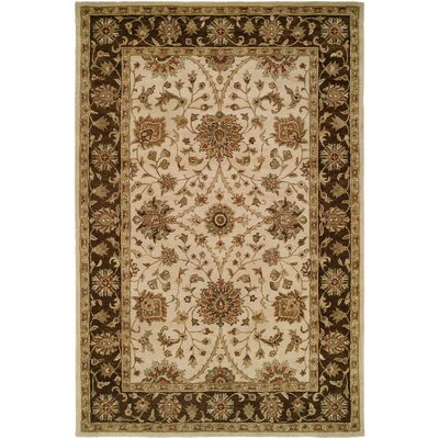 Bobal Hand-Woven Beige Area Rug Rug Size: Rectangle 5 x 8