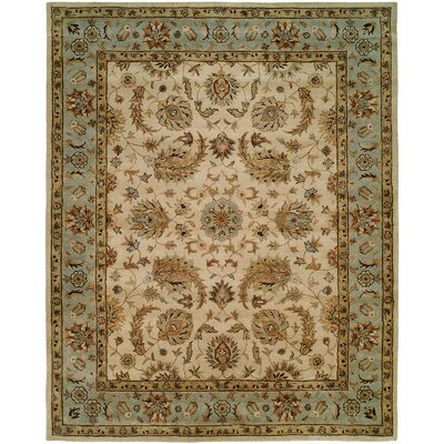 Bora Hand-Woven Beige Area Rug Rug Size: Rectangle 9 x 12